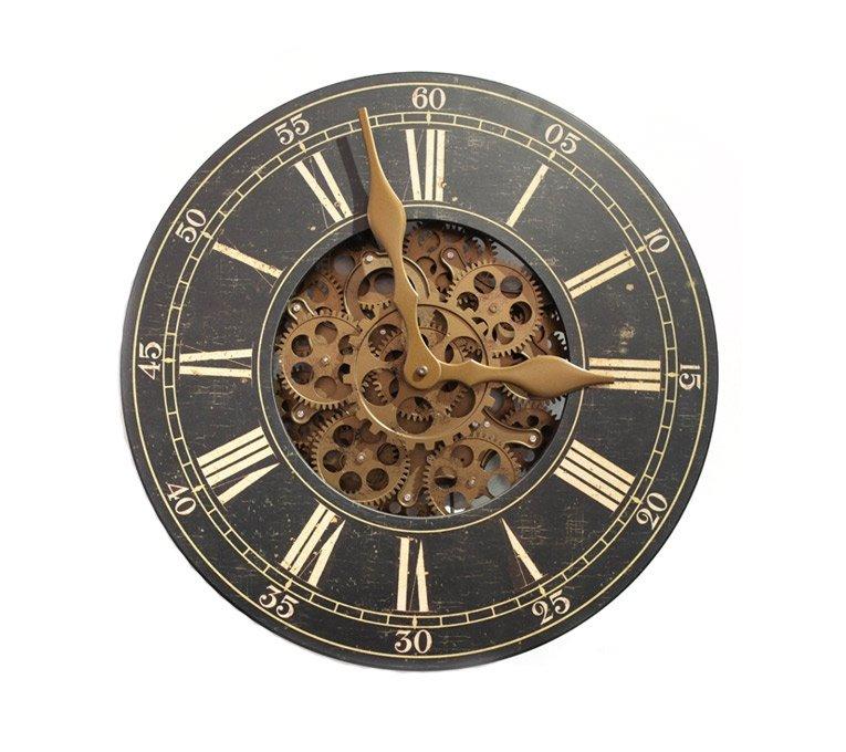 Zone maison achat - Horloge avec mecanisme apparent ...